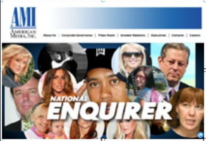 National Enquirer AMI banner