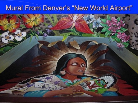 Denver airport murals explained by dr leonard horowitz for Denver mural airport
