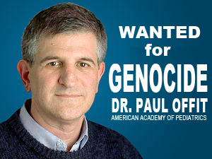 Wanted for Genocide Paul Offit
