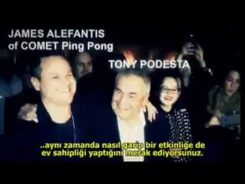 James Alefantis and Tony Podesta celebrating together