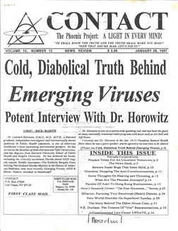 CONTACT - Emerging Viruses - Horowitz - 1-28-97 thumb